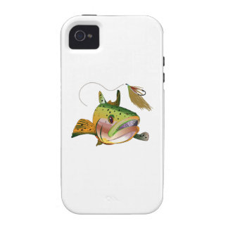 TROUT AND FLY VIBE iPhone 4 CASE