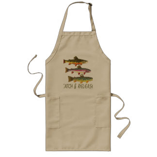 Trout Catch and Release Long Apron