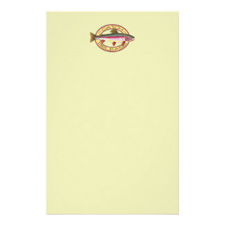 Trout Catch & Release Fishing Stationery