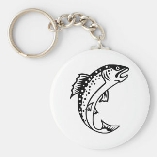 Trout Fish Keychains