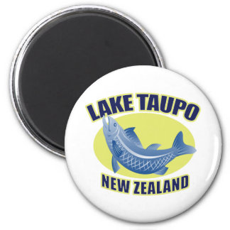Trout fish lake taupo new zealand magnets
