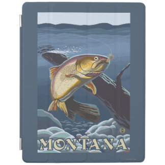 Trout Fishing Cross-Section - Montana iPad Cover
