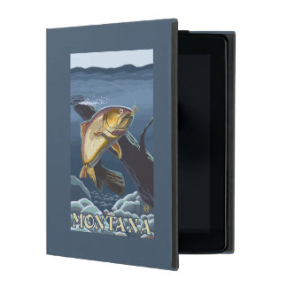 Trout Fishing Cross-Section - Montana iPad Covers
