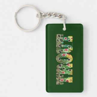 Trout Fishing Acrylic Keychains