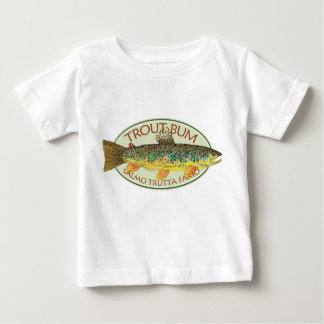 Trout Fly Fishing Baby T-Shirt