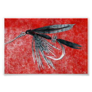 Trout Fly Poster