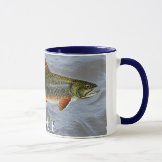 Trout Freshwater Fish, With Water Background Image Mug