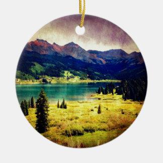 Trout Lake Christmas Ornament