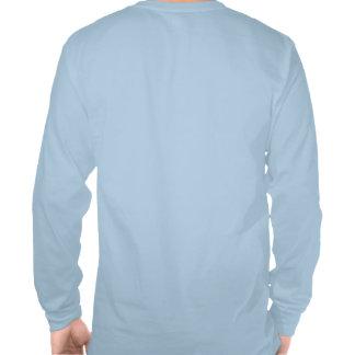 Trout Tracker Fishing Long Sleeve - Burnt Blue Tee Shirt