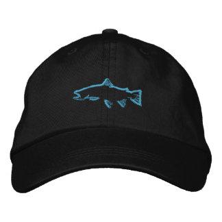 Trout Tracker Hat - Blue Baseball Cap