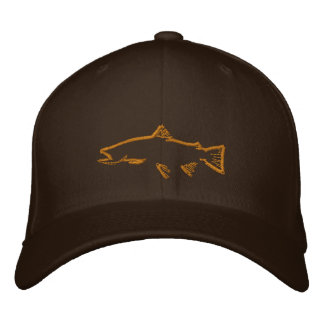 Trout Tracker Hat Embroidered Baseball Cap