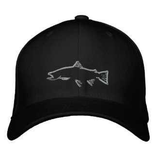 Trout Tracker Hat Embroidered Baseball Caps