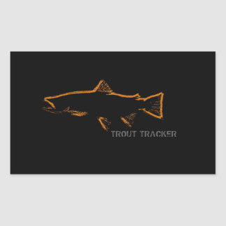 Trout Tracker Stickers