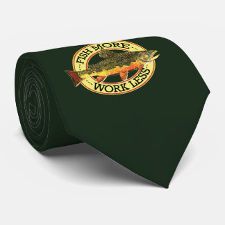 Trout Whisker's Humorous Fly Fishing Tie