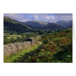 Troutbeck Valley & High Street - The Lake District Greeting Card