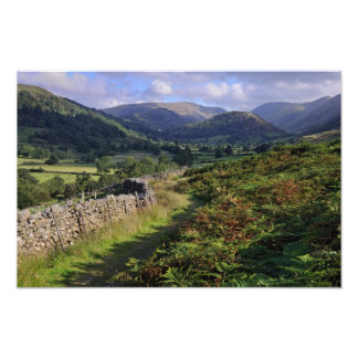Troutbeck Valley - The Lake District Photograph