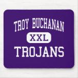 Troy Buchanan - Trojans - High - Troy Missouri Mousepad
