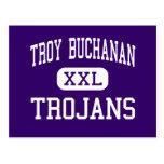 Troy Buchanan - Trojans - High - Troy Missouri Post Cards