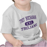 Troy Buchanan - Trojans - High - Troy Missouri Tee Shirts