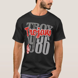 Troy Trojans Black Tee