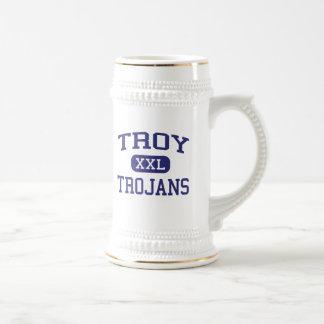 Troy Trojans Troy Middle School Troy Kansas Coffee Mugs