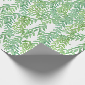 Trpical leaves wraping paper