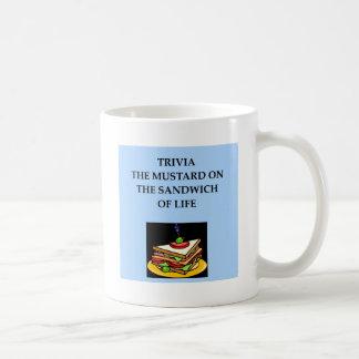 trrivia basic white mug