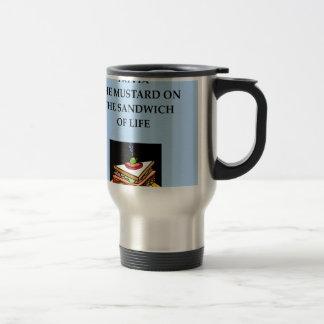 trrivia stainless steel travel mug