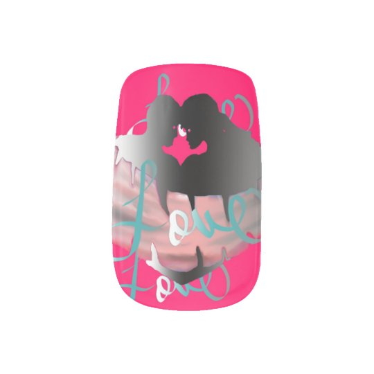 tru luv collection custom nail minx nail art