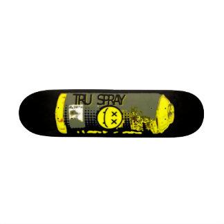 Tru spray skateboard deck