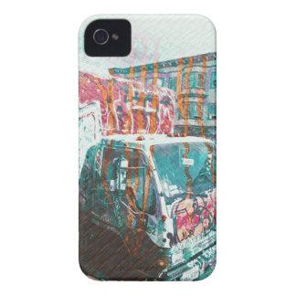Truck-A-Licious Bang ( graffiti Love ) iPhone 4 Covers