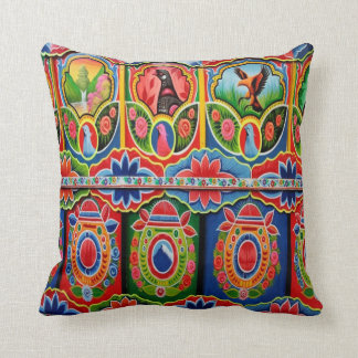 Truck Art Outdoor Throw Pillows By Bangees Edge