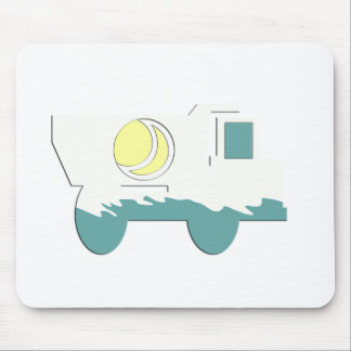 Truck Card Stickers and Party Supplies Mouse Mats
