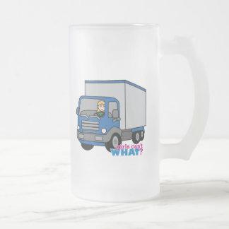 Truck Driver - Blue Truck Mugs