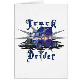 Truck Driver Card