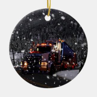 Truck Driver Christmas Christmas Ornament