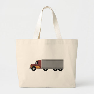 Truck Driver Large Tote Bag