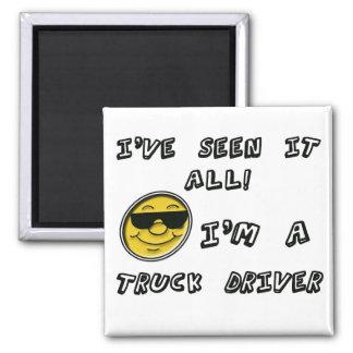 Truck Driver Magnet