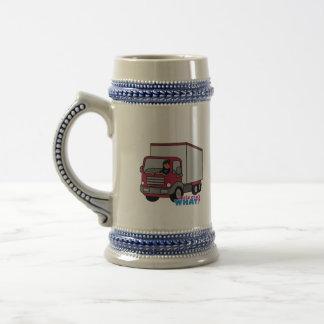 Truck Driver - Red Truck Mugs