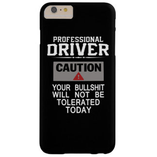 Truck Driver Safety Barely There iPhone 6 Plus Case