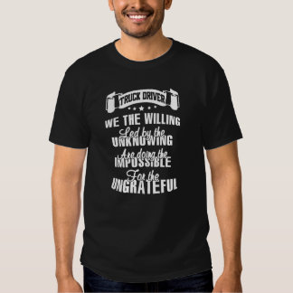 Truck Driver Tee Shirts