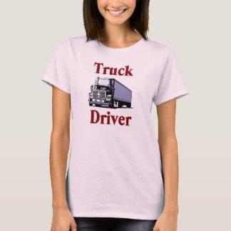 Truck Driver Womens T-Shirt