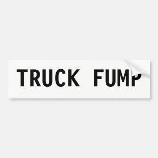 TRUCK FUMP Bumper Sticker