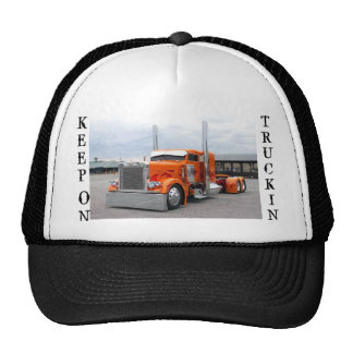 TRUCK HAT, KEEP, ON, TRUCKIN CAP