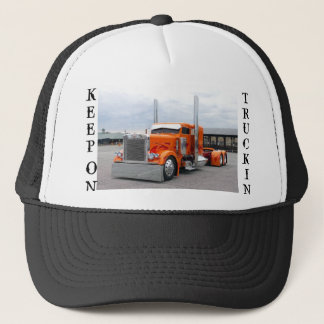 TRUCK HAT, KEEP, ON, TRUCKIN TRUCKER HAT