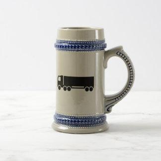Truck icon mug