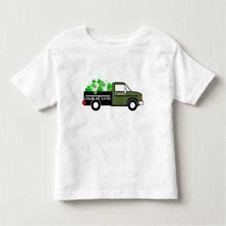 "Truck ""Loads of Luck"" Toddler T-Shirt"