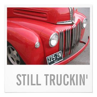 Truck Lover 50th Birthday - Still Trucking Custom Announcements