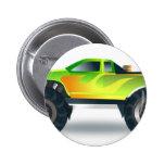 Truck Monster 4x4 ATV Destiny Congratulations 6 Cm Round Badge