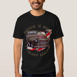 Truck n roll 50-ties CHevy pickup truck T Shirts